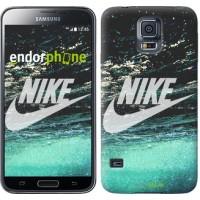 Чехол для Samsung Galaxy S5 Duos SM G900FD Water Nike 2720c-62