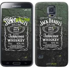 Чехол для Samsung Galaxy S5 Duos SM G900FD Whiskey Jack Daniels 822c-62