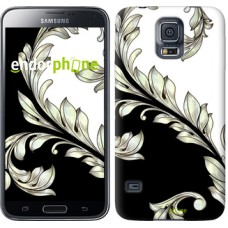 Чехол для Samsung Galaxy S5 Duos SM G900FD White and black 1 2805c-62