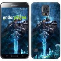 Чехол для Samsung Galaxy S5 Duos SM G900FD World of Warcraft. King 644c-62