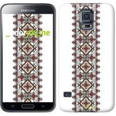 Чехол для Samsung Galaxy S5 G900H Вышиванка 22 590c-24