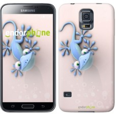 Чехол для Samsung Galaxy S5 G900H Гекончик 1094c-24