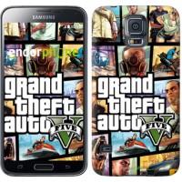 Чехол для Samsung Galaxy S5 G900H GTA 5. Collage 630c-24