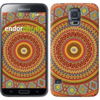 Чехол для Samsung Galaxy S5 G900H Индийский узор 2860c-24