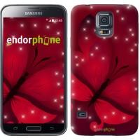 Чехол для Samsung Galaxy S5 G900H Лунная бабочка 1663c-24