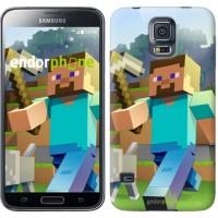 Чехол для Samsung Galaxy S5 G900H Minecraft 4 2944c-24