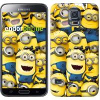 Чехол для Samsung Galaxy S5 G900H Миньоны 8 860c-24