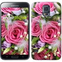 Чехол для Samsung Galaxy S5 G900H Нежность 2916c-24