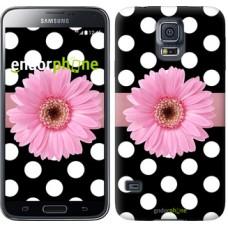 Чехол для Samsung Galaxy S5 G900H Горошек 2 2147c-24