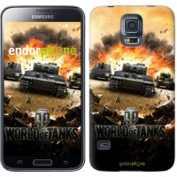 Чехол для Samsung Galaxy S5 G900H World of tanks v1 834c-24