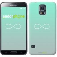 Чехол для Samsung Galaxy S5 G900H Знак бесконечности 3204c-24