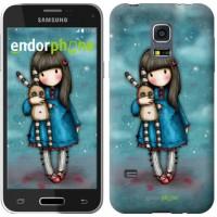 Чехол для Samsung Galaxy S5 mini G800H Девочка с зайчиком 915m-44