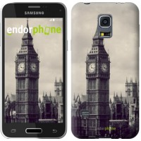 Чехол для Samsung Galaxy S5 mini G800H Биг Бен 849m-44