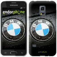 Чехол для Samsung Galaxy S5 mini G800H BMW 845m-44