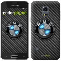 Чехол для Samsung Galaxy S5 mini G800H BMW. Logo v3 3109m-44