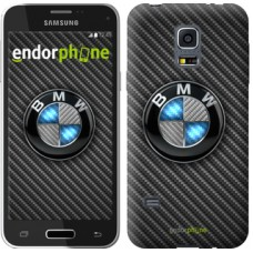 Чехол для Samsung Galaxy S5 mini G800H BMW. Logo v3 3109m-44