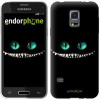 Чехол для Samsung Galaxy S5 mini G800H Чеширский кот 689m-44