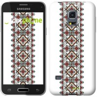 Чехол для Samsung Galaxy S5 mini G800H Вышиванка 22 590m-44