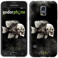 Чехол для Samsung Galaxy S5 mini G800H Рыбо-человек 683m-44