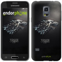 Чехол для Samsung Galaxy S5 mini G800H Game of thrones. Stark House 1120m-44