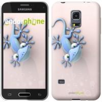 Чехол для Samsung Galaxy S5 mini G800H Гекончик 1094m-44