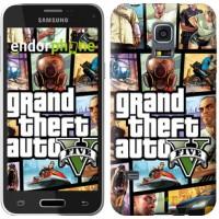 Чехол для Samsung Galaxy S5 mini G800H GTA 5. Collage 630m-44