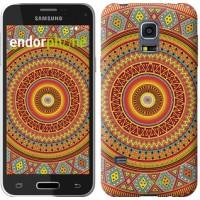 Чехол для Samsung Galaxy S5 mini G800H Индийский узор 2860m-44
