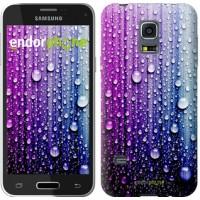 Чехол для Samsung Galaxy S5 mini G800H Капли воды 3351m-44