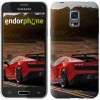 Чехол для Samsung Galaxy S5 mini G800H Lamborghini v2 2948m-44