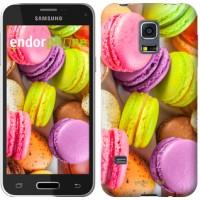 Чехол для Samsung Galaxy S5 mini G800H Макаруны 2995m-44