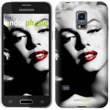 Чехол для Samsung Galaxy S5 mini G800H Мэрилин Монро 2370m-44