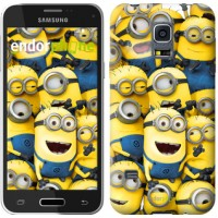 Чехол для Samsung Galaxy S5 mini G800H Миньоны 8 860m-44