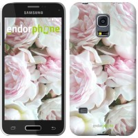 Чехол для Samsung Galaxy S5 mini G800H Пионы v2 2706m-44