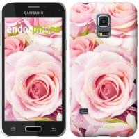 Чехол для Samsung Galaxy S5 mini G800H Розы 525m-44
