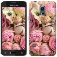 Чехол для Samsung Galaxy S5 mini G800H Розы v2 2320m-44
