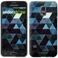 Чехол для Samsung Galaxy S5 mini G800H Треугольники 2859m-44
