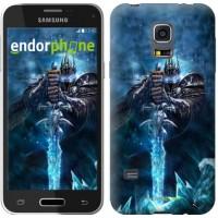 Чехол для Samsung Galaxy S5 mini G800H World of Warcraft. King 644m-44