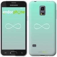 Чехол для Samsung Galaxy S5 mini G800H Знак бесконечности 3204m-44