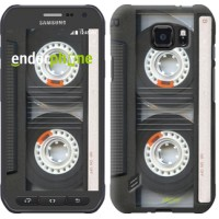 Чехол для Samsung Galaxy S6 active G890 Кассета 876u-331