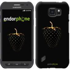 Чехол для Samsung Galaxy S6 active G890 Черная клубника 3585u-331