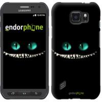 Чехол для Samsung Galaxy S6 active G890 Чеширский кот 689u-331