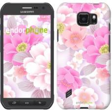 Чехол для Samsung Galaxy S6 active G890 Цвет яблони 2225u-331