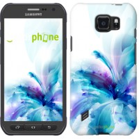 Чехол для Samsung Galaxy S6 active G890 цветок 2265u-331