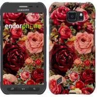 Чехол для Samsung Galaxy S6 active G890 Цветущие розы 2701u-331