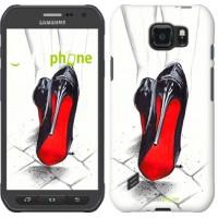Чехол для Samsung Galaxy S6 active G890 Devil Wears Louboutin 2834u-331
