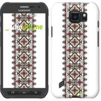 Чехол для Samsung Galaxy S6 active G890 Вышиванка 22 590u-331