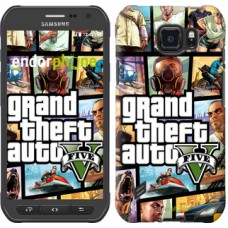 Чехол для Samsung Galaxy S6 active G890 GTA 5. Collage 630u-331