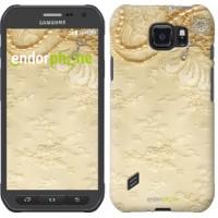 Чехол для Samsung Galaxy S6 active G890 Кружевной орнамент 2160u-331