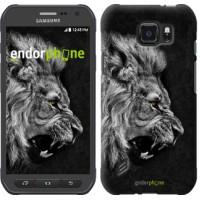Чехол для Samsung Galaxy S6 active G890 Лев 1080u-331