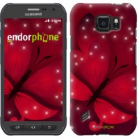 Чехол для Samsung Galaxy S6 active G890 Лунная бабочка 1663u-331
